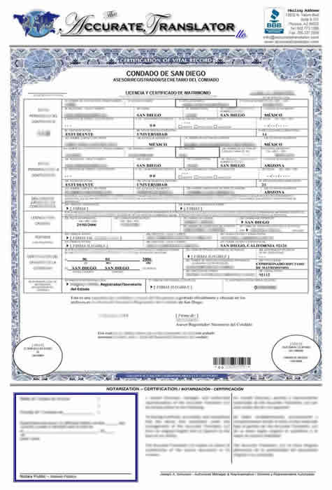 Birth certificate translation of public legal documents for Translate my document to spanish