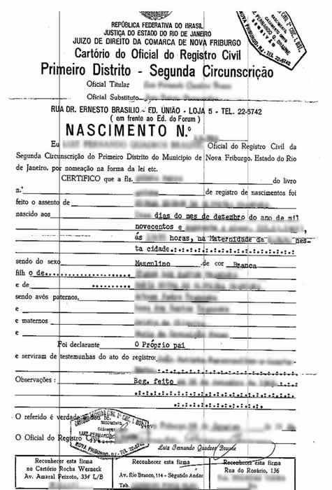 Birth certificate translation of public legal documents certificates translated to english from other languages yadclub Images